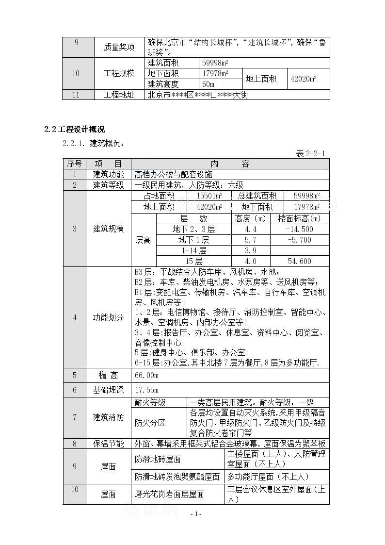 北京某综合高层办公楼装修施工方案-图二
