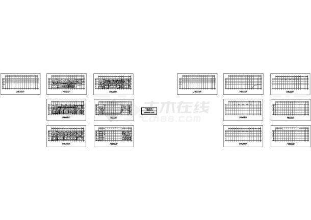 办公楼设计_某六层砖混结构办公楼配电设计cad全套电气施工图(甲级院设计)-图二