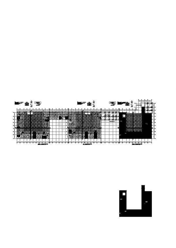 钢筋混凝土结构—自用办公楼结构施工图-图一
