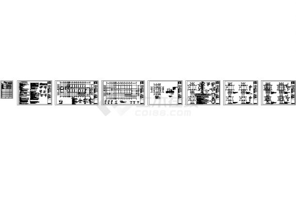 办公楼设计_【南京】某单层砌体结构苗木基地办公楼结构施工图-图一