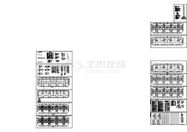 [河南]小区十二层住宅楼给排水电气全套施工图,含给排水设计说明,电气设计说明-图一