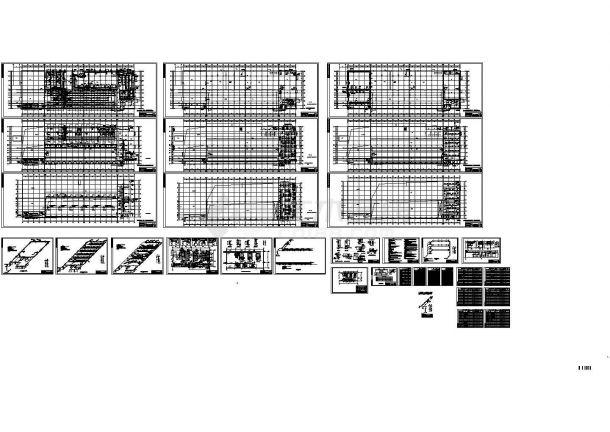 天津某车间工程暖通设计图纸-图一