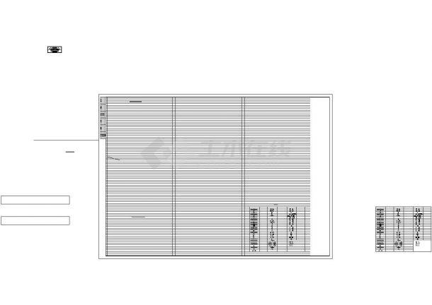 [福建]高层住宅小区给排水消防施工图1-5地下室-图二