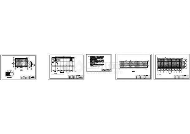 某单层框架厂房高支模脚手架施工方案(附脚手架图纸)-图一