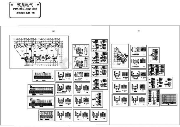 某20层办公住宅综合楼电气设计施工图-图二