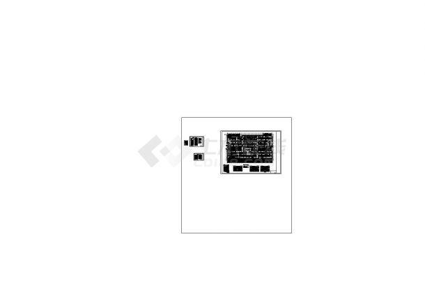 [江苏]高层住宅小区空调通风及防排烟系统设计施工图CAD-图一