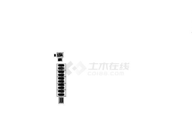 [江苏]高层住宅小区空调通风及防排烟系统设计施工图CAD-图二
