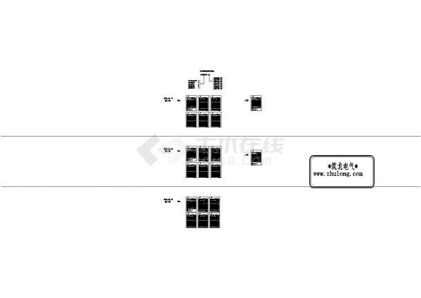 [江西]知名综合商业楼全套电气图153张-图一
