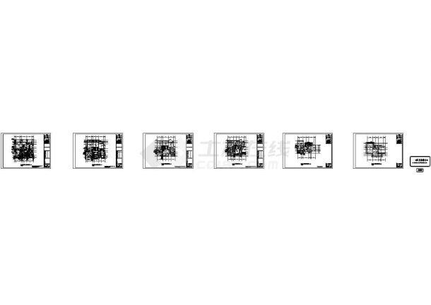 [广东]9层高档住宅小区给排水施工图纸-图一