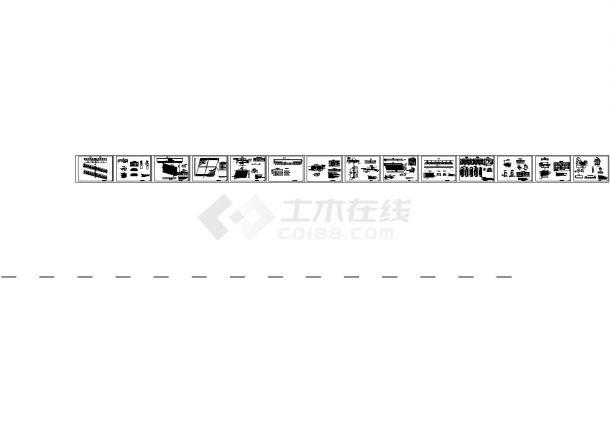 [天津]道路桥梁工程设计施工图30张-图二