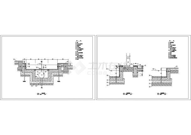 喷水池方案设计详图-图一