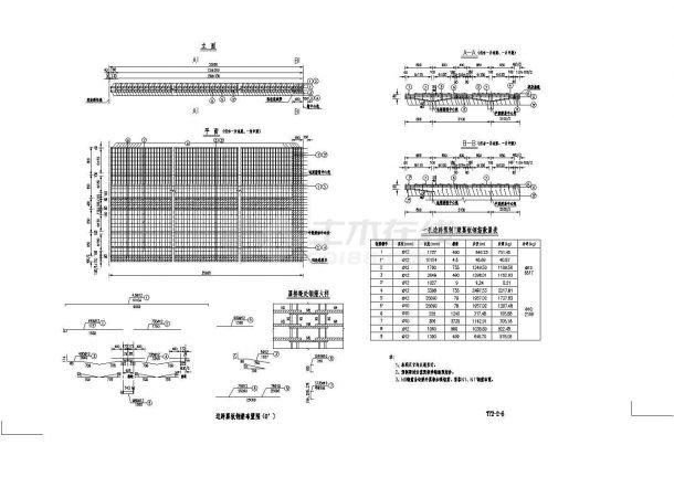 [浙江]预应力混凝土连续梁桥T梁施工图设计23张(桥宽10m)-图一