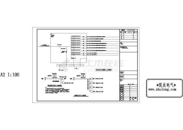 居住小区园林景观水电施工图纸-图二