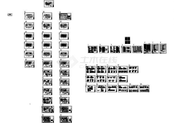 [福建]高层商业综合楼强弱电施工图70张-图二