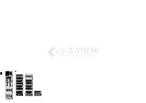 某地上11+1层剪力墙结构住宅楼强弱电设计cad全套电气施工图纸(含设计说明)-图一