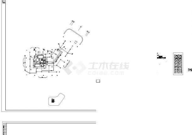[湖南]商业楼强弱电施工图131张-图一