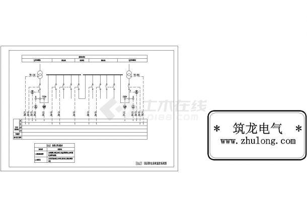 BAS低压配电系统监控系统图-图二