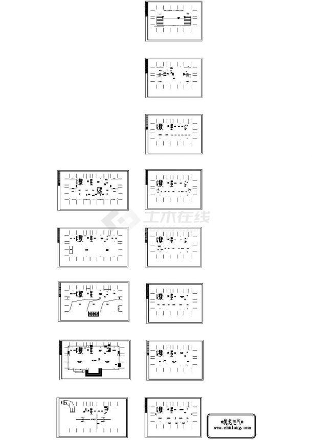 办公楼设计_[河北]某有限公司办公楼全套电气图纸-图一