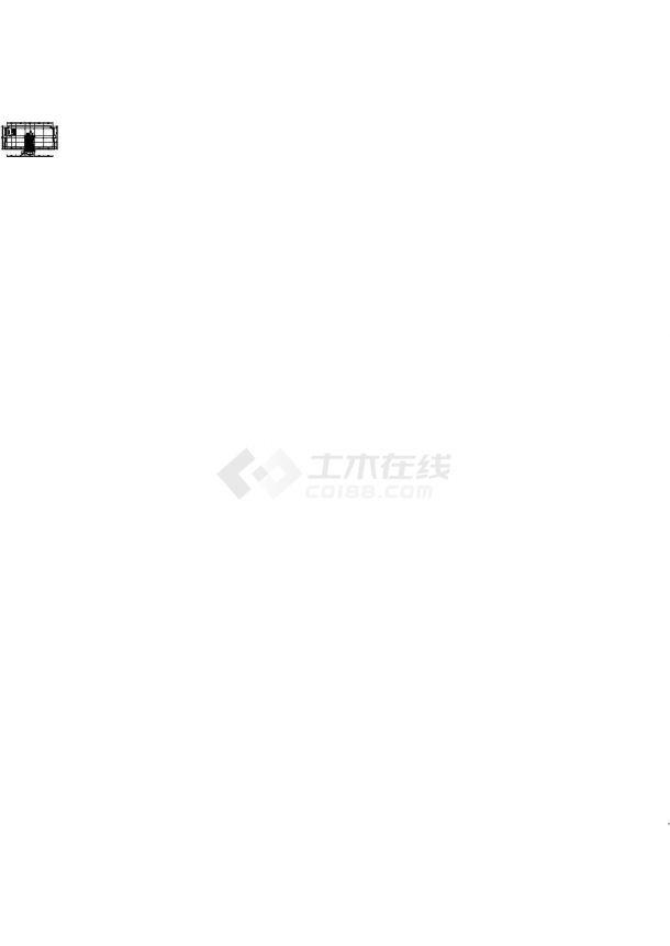 大俊科技产业园区施工图丶带效果图cad施工图设计-图二