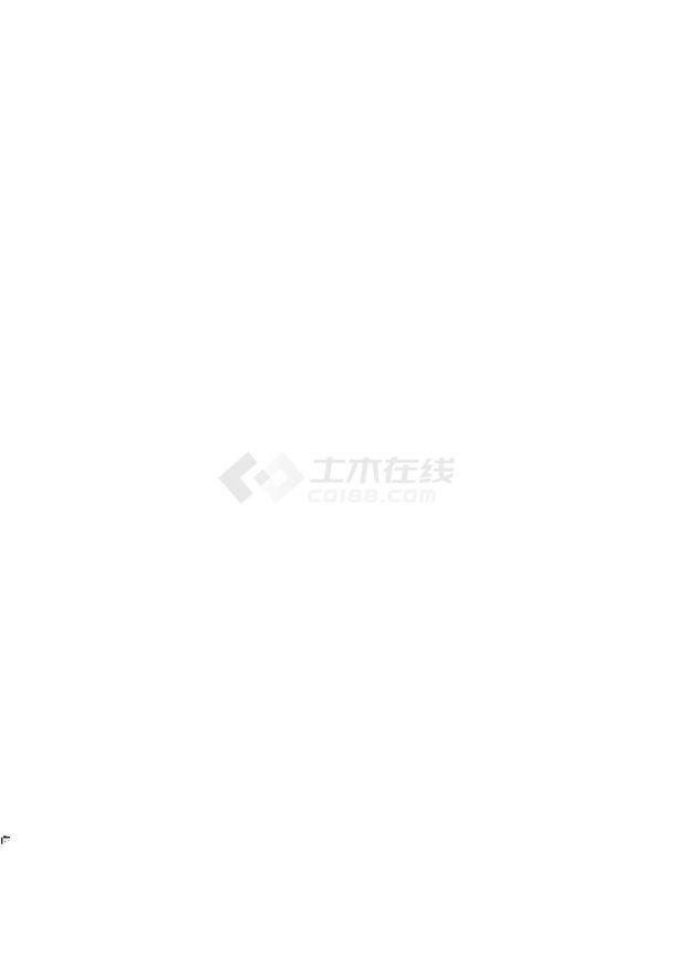 [浙江]文化中心文化站智能化工程设计CAD图纸-图一