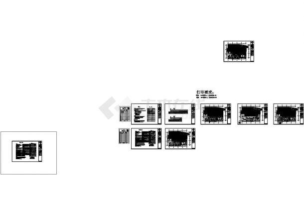 福建恒基集 团办公室混搭风格.室内装修图全套cad(含施工说明)-图二