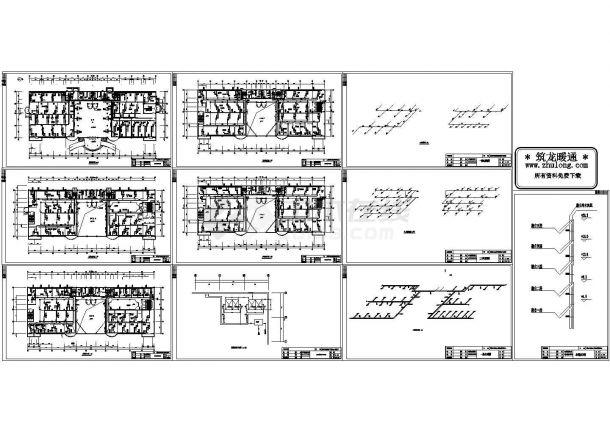 通风空调工程设计与施工cad设计图-图一