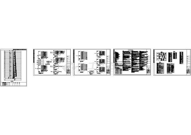 深圳某甲级院全套高层住宅楼电气系统图(含说明)-图一