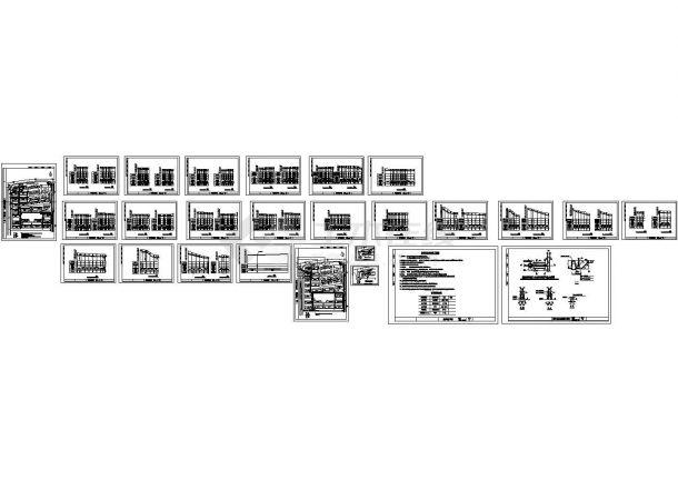 某小区室外排水管网系统施工图-图一