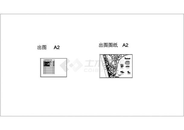 [重庆]生态公园园林景观植物种植cad施工图(甲级设计院设计)-图二