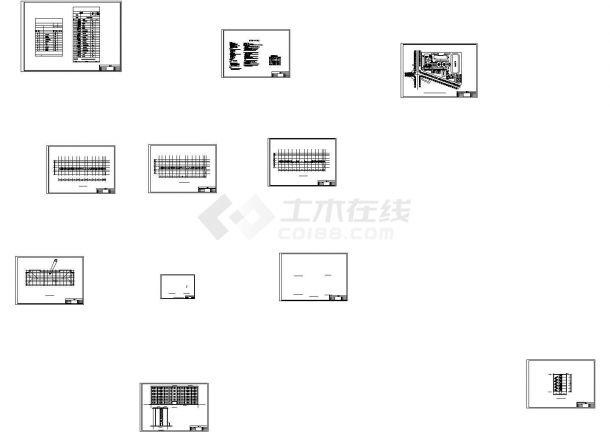 某六层框 结构中学教学楼毕业设计(含建筑图结构图任务书,结构说明等)-图一