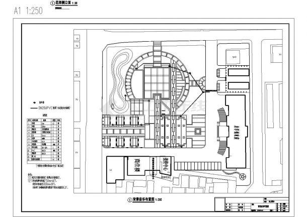 市民公园广场绿化成套图纸-图一