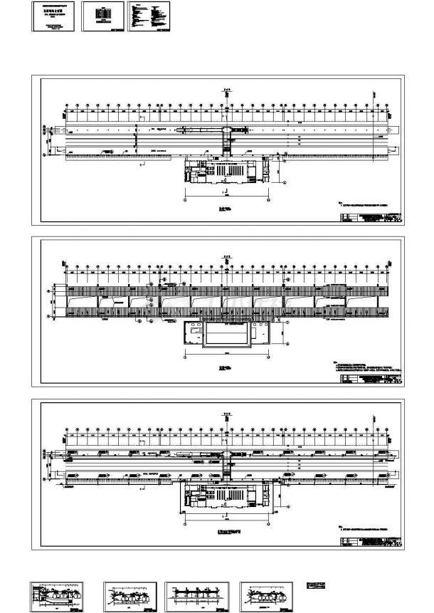苍南雨棚建筑设计方案与施工咨询图.-图二