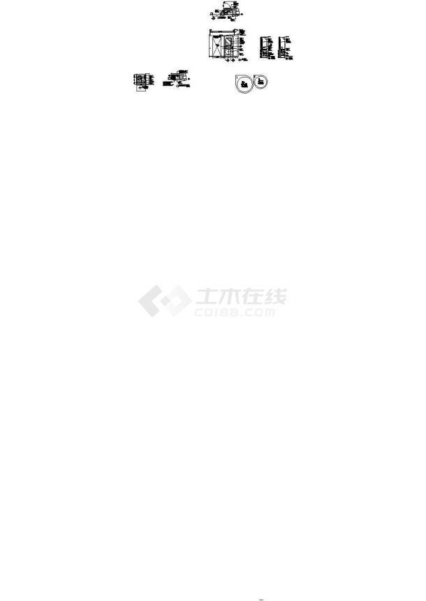 高档商务酒店标准客房B型施工图-图二