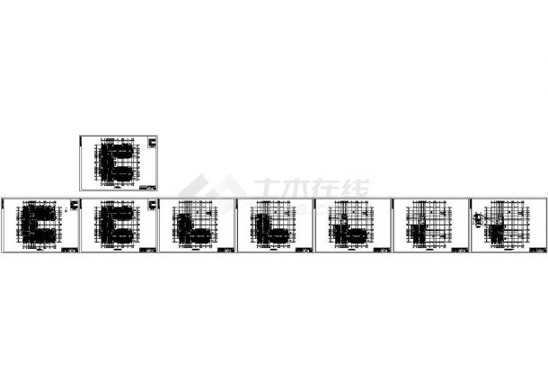 高层建筑低温辐射采暖设计施工图-图一