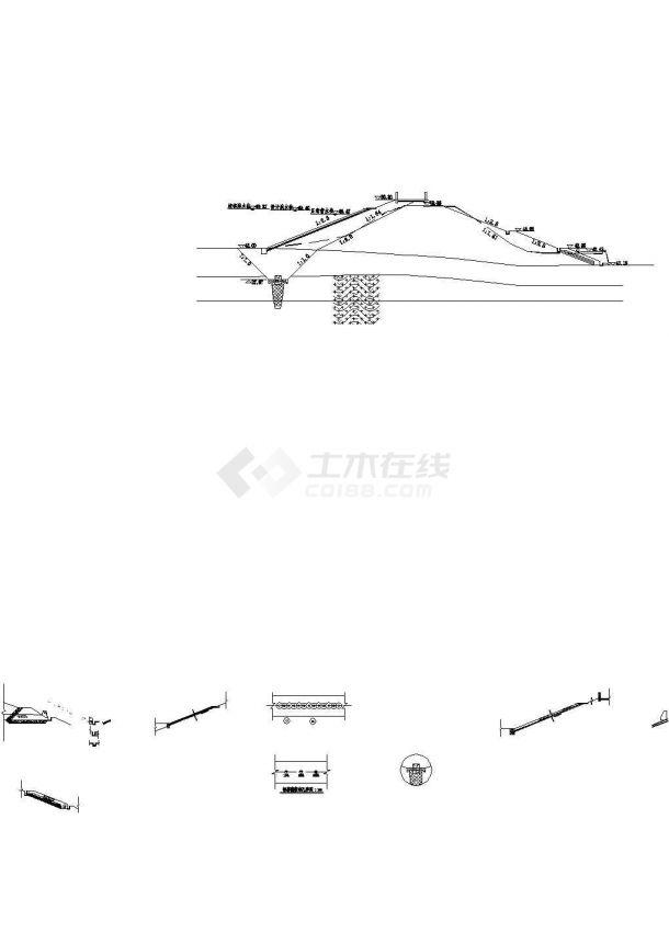 [湖南]小(二)型水库大坝除险加固工程施工图-图二