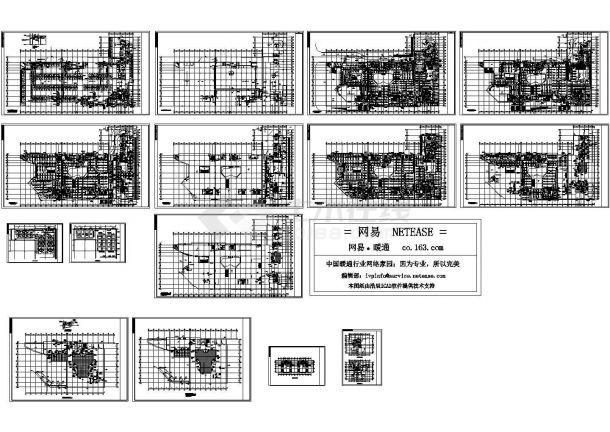 [广东]综合性商场空调通风排烟系统设计施工图( 系统图多)-图一