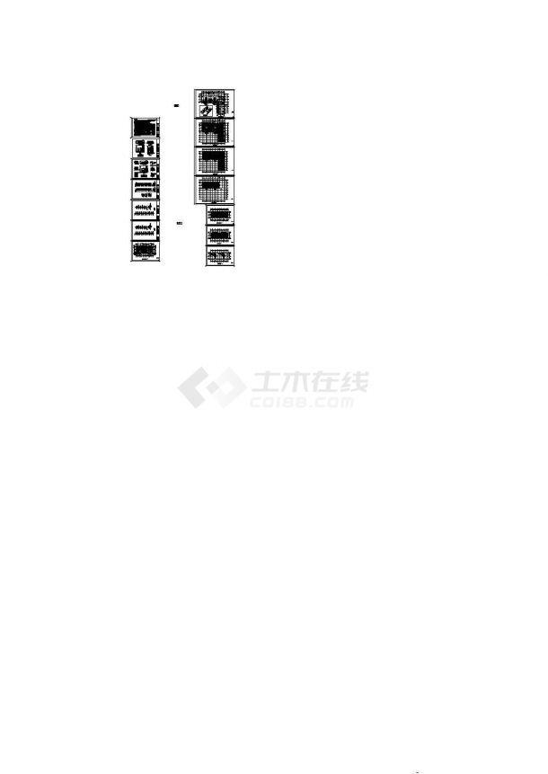 [银川]高层住宅楼地板辐射采暖设计施工图(含设计及施工说明)-图一
