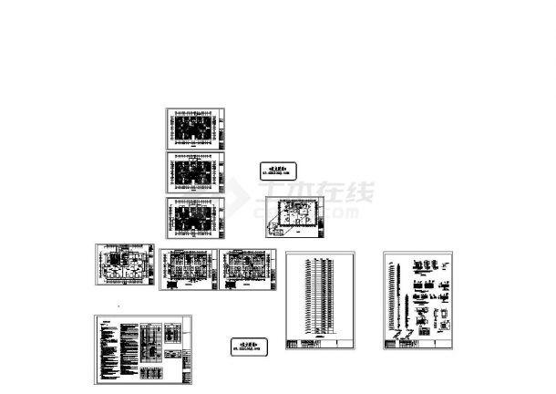 [山东]住宅楼辐射采暖设计施工图(含设计与施工说明)-图一