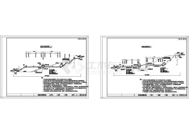 双向四车道高速公路245m路基标准横断面图(分离式整体式)-图一