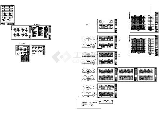 [河南]高层住宅小区采暖通风及防排烟系统设计施工图(含采暖通风设计与施工说明)-图一