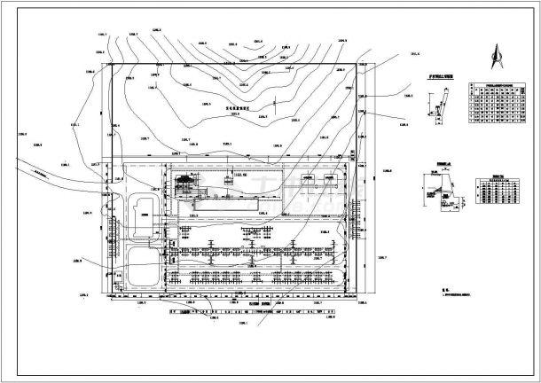 某郊区220KV变电站全套电气设计CAD施工图-图一