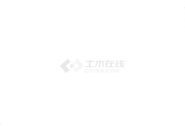 [毕业设计]某住宅楼工程施工组织设计及清单计价-图二