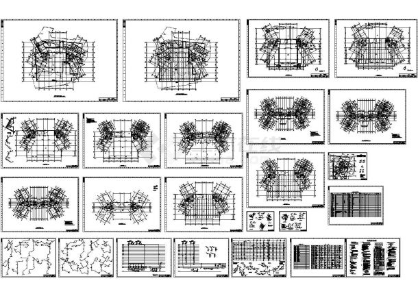 某高层住宅给排水设计图纸,含给排水设计总说明-图二