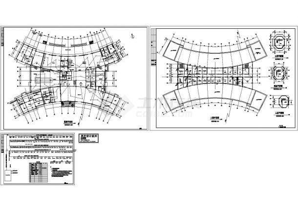 航站楼消防报警CAD平面图-图一