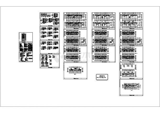 [江苏]六层商住楼全套电气施工图纸 ,含电气施工设计说明-图一