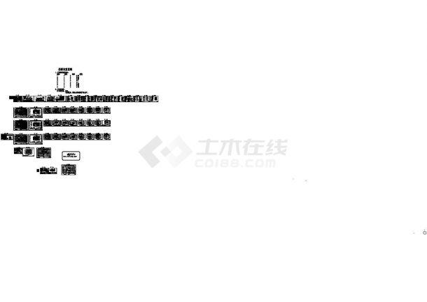 [浙江]某二十二层综合楼电气施工图纸53张,含设计施工说明-图二