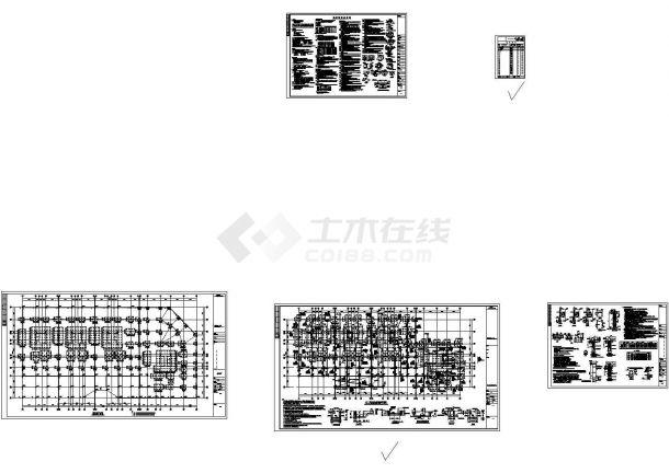 [湖南]超高层商住楼桩基础施工图,4张图纸。-图一