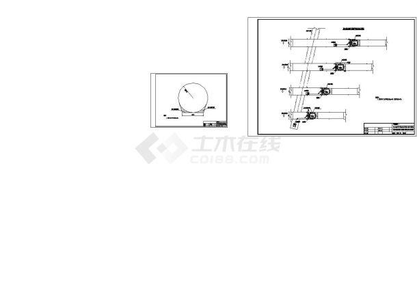 引水竖井开挖支护施工技术措施及设计图纸(cad图)-图二