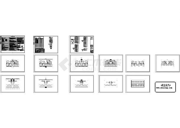 [河南]四层小型住宅楼电气施工图纸,15张图纸。-图二