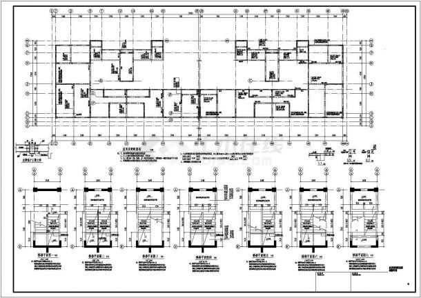 某地上15层剪力墙结构住宅楼设计cad详细结构施工图(含设计说明)-图二